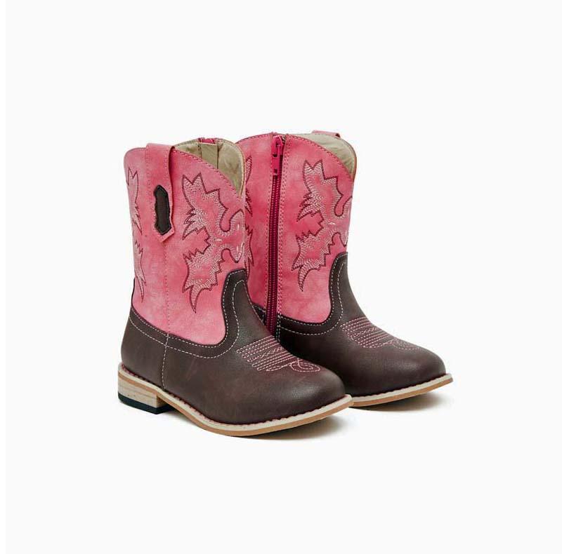 Junior Western pink – pair